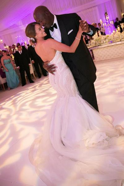 Майкл Джордан и его жена Иветт