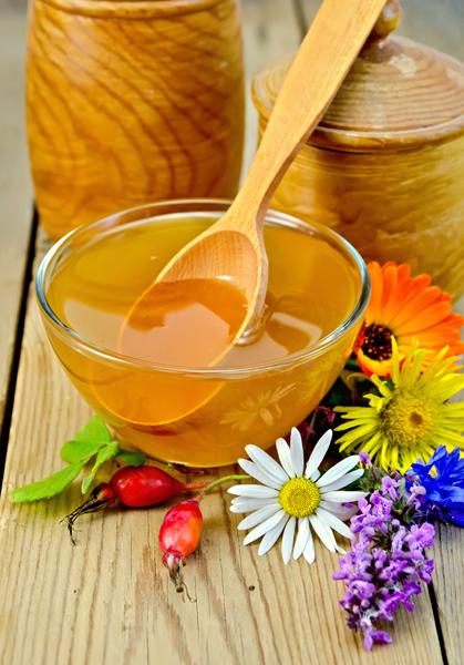 мед и шиповник