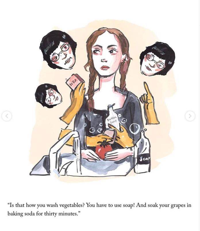 Фото №2 - Американская художница показала, как детство в СССР подготовило ее к эпидемии коронавируса