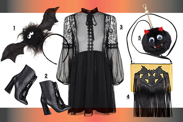 Фото №2 - Toп-10: Вещи к Хэллоуину в готическом стиле