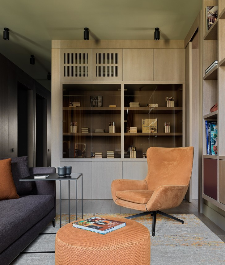 Фото №10 - Все краски осени: уютная московская квартира 70 м²