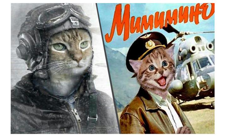 Фото №1 - Смешные авиаплакаты в честь дородного кота Виктора, обиженного «Аэрофлотом»