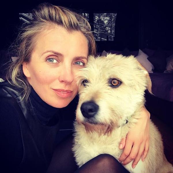 Фото №5 - Домашние животные звезд: собаки, кошки, лемуры, свиньи и даже улитки!