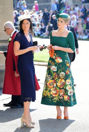 Фото №5 - Новые правила: как изменился стиль гостей на королевских свадьбах за последние 10 лет