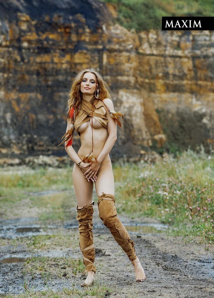 Фото №6 - Актриса фильма «Вратарь Галактики» Мария Лисовая в фотосессии MAXIM