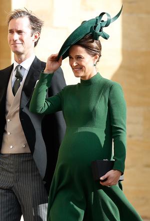 Фото №21 - Самые стильные гости на свадьбе принцессы Евгении и Джека Бруксбэнка