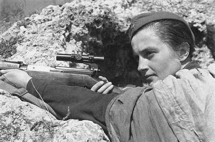 Фото №2 - «Miss Pavlichenko»: за что американцы посвятили советской женщине песню