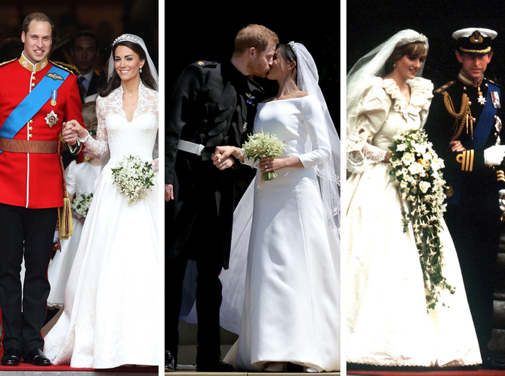 Фото №1 - Кембриджские, Сассекские или Уэльские: какая королевская свадьба стала самой дорогой в истории