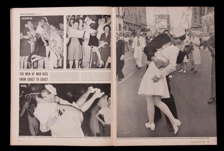 Фото №2 - История одной фотографии: моряк целует медсестру на Таймс-сквер