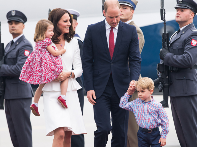 Фото №12 - Принцесса Шарлотта Кембриджская: третий год в фотографиях