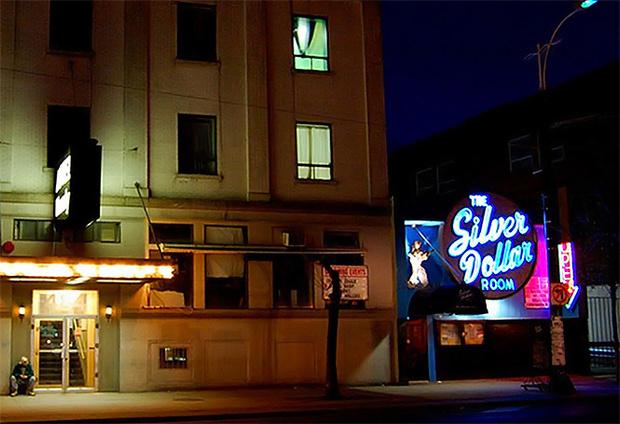 Настоящий бар The Silver Dollar Room, прообраз бара The Blue Oyster.