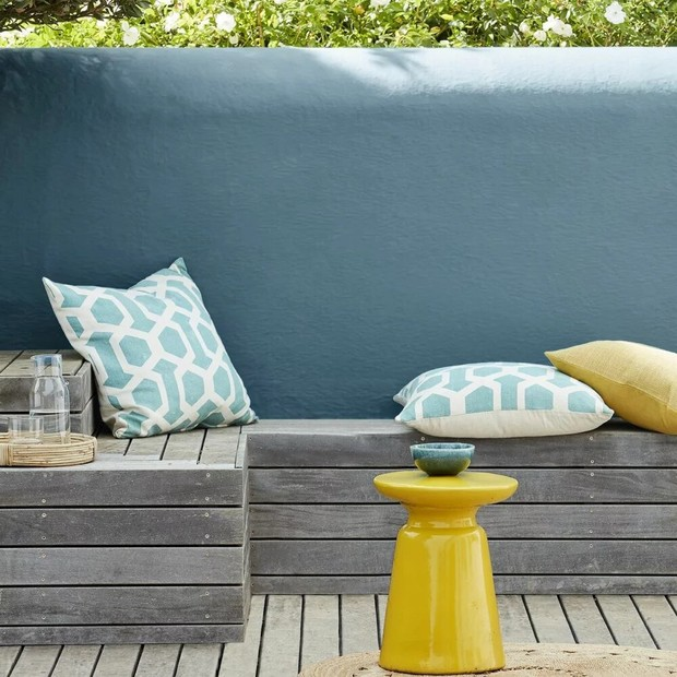 Фото №6 - Да будет цвет: 10 идей декорирования террасы