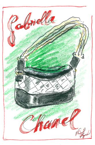 Фото №1 - Хотеть не вредно: новая сумка Chanel's Gabrielle