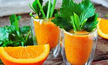 Детокс-коктейль с сельдереем и апельсином