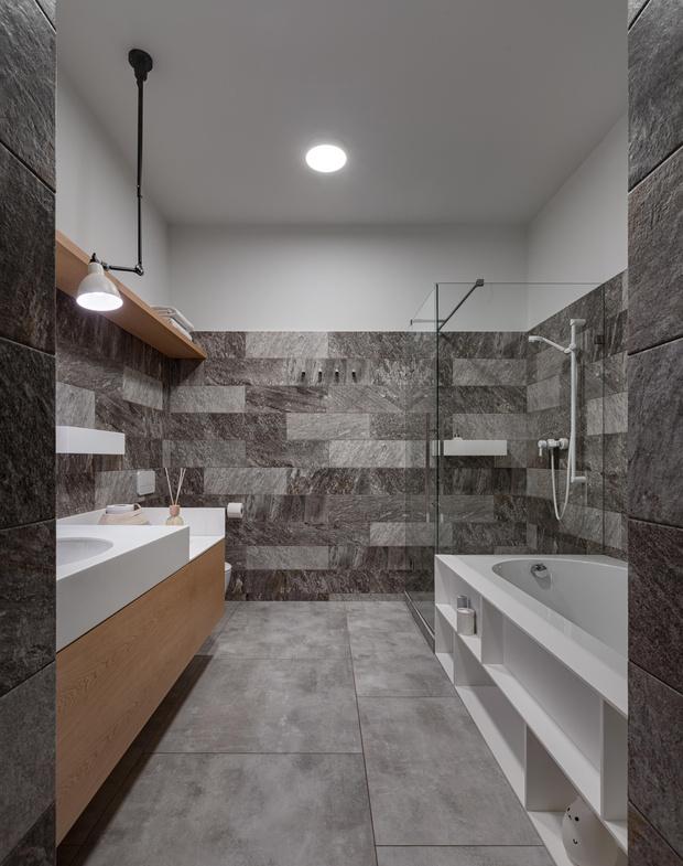 Фото №15 - Бетон + яркие акценты: квартира 166 м² в Кривом Роге