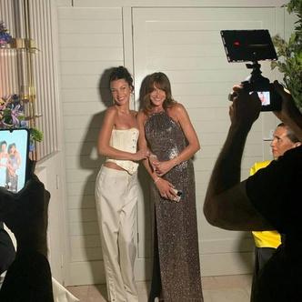Фото №2 - Белла Хадид показала, с чем носить корсет на вечеринки 💃