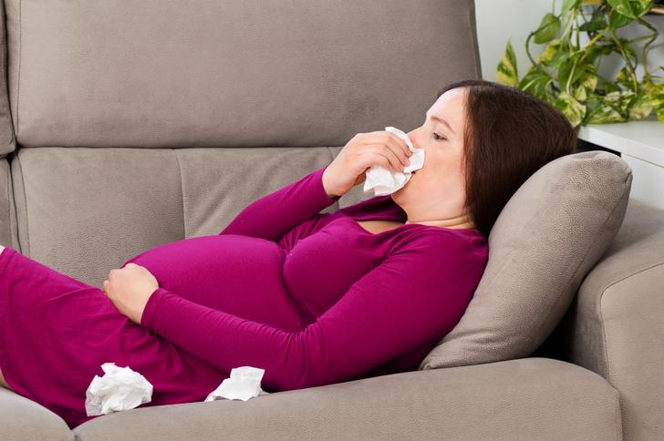 Фото №1 - Простуда при беременности: 2-й триместр
