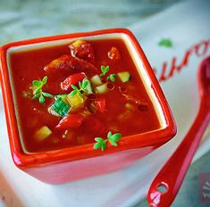 Гаспачо – томатный лед и пламень