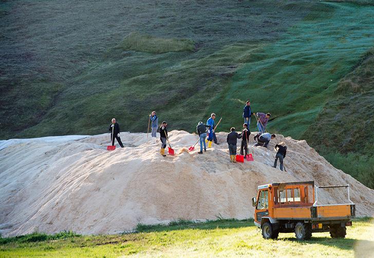 Фото №2 - Традиции: Ла Скиеда. Стиль катания телемарк