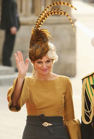 Фото №45 - 25 необычных шляп на королевских свадьбах