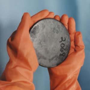 Фото №1 - Жителю Саксонии подбросили немного урана