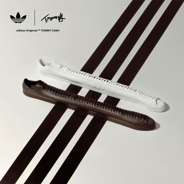 Фото №2 - Adidas сшил для эстонского рэпера Томми Кэша супердлинные кроссовки с метровыми носками