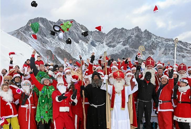 Фото №1 - Кто лучший Санта-Клаус?