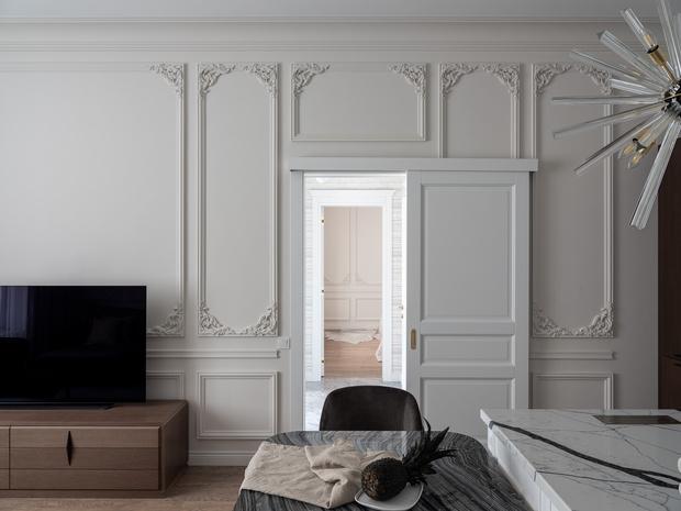 Фото №2 - Элегантный дом во французском стиледля молодой пары
