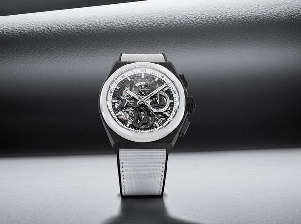 Фото №1 - Часы на все времена: Zenith представил новые модели в черно-белом дуэте