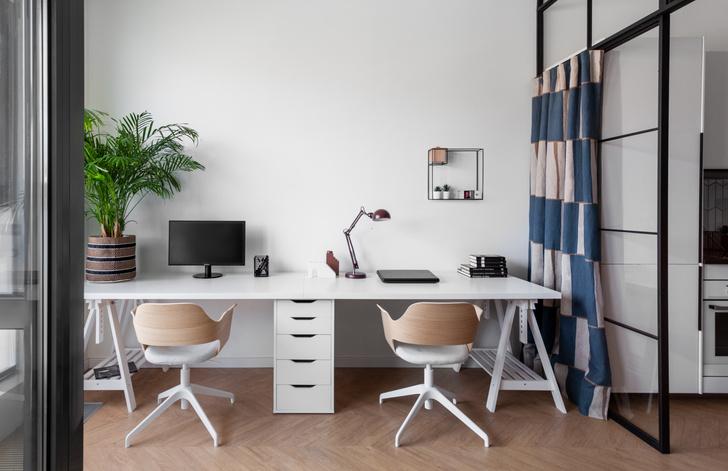 Фото №10 - Яркая квартира 30 м² для молодой пары, работающей из дома