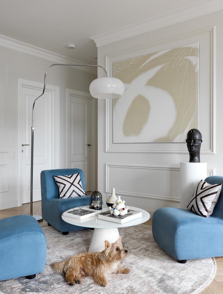 Фото №1 - Современная квартира с винтажной мебелью