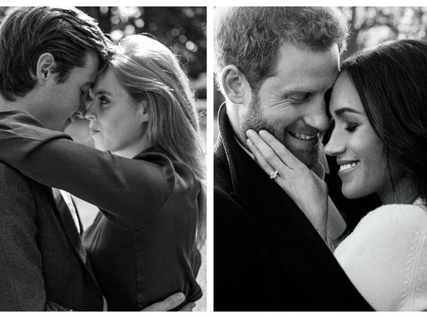 Фото №3 - Что общего у помолвочных фотосессий принцессы Беатрис и герцогини Меган