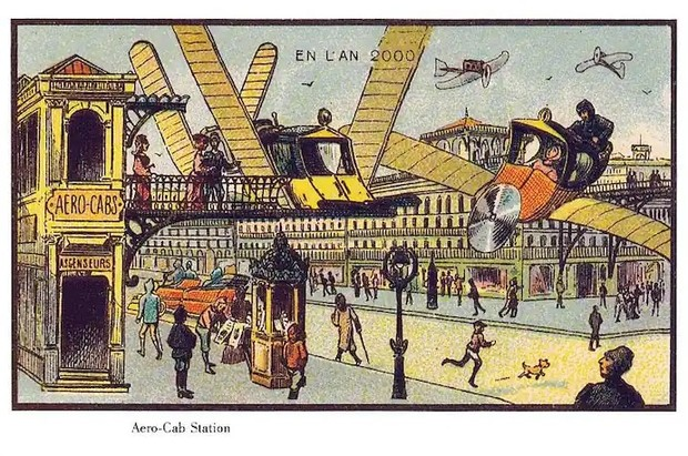 Фото №12 - Как люди изображали наше время сто лет назад