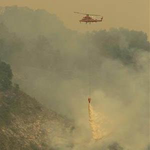 Фото №1 - Огонь идет по Калифорнии