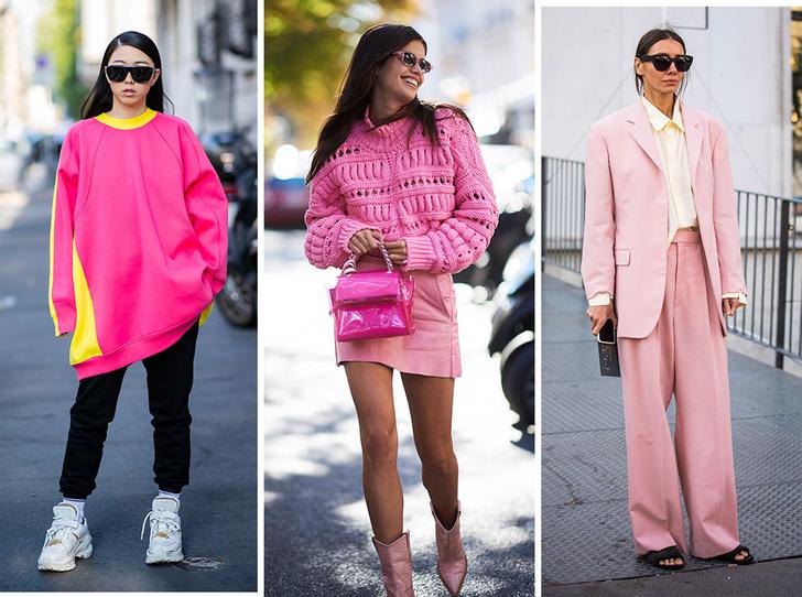 Фото №1 - Четыре самых модных способа носить розовый цвет повседневно