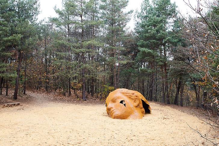 Фото №1 - Скульптура в песчаных дюнах Бельгии