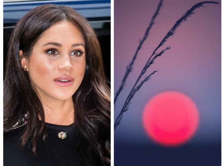Фото №1 - Как на рождение первенца Сассекских может повлиять розовая луна