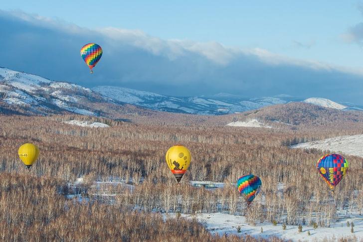 Фото №2 - Зона комфорта: за что воздухоплаватели любят уральскую зиму