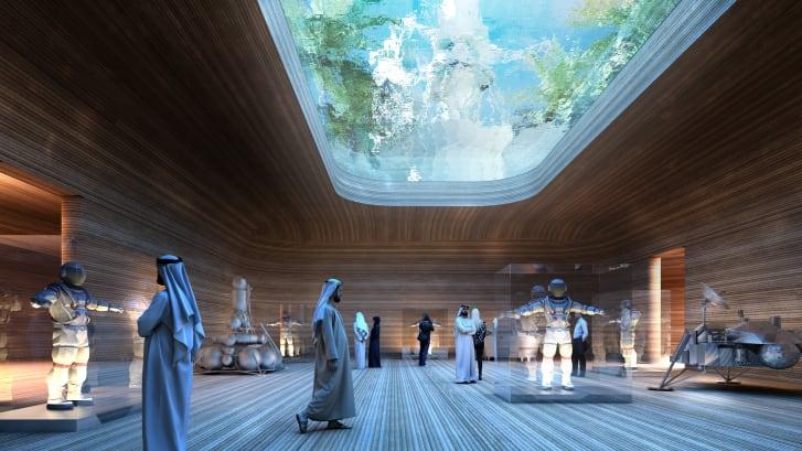Фото №2 - В Арабских Эмиратах собираются построить космический город для тренировки колонизации Марса (фото)
