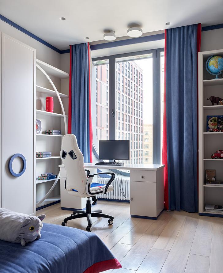 Фото №16 - Квартира 105 м² с необычным дизайном и арочными окнами на ЗилАрт