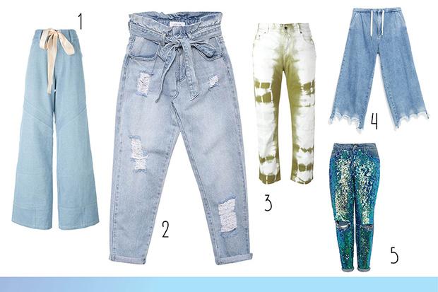 Фото №1 - Топ-15: Необычные джинсы