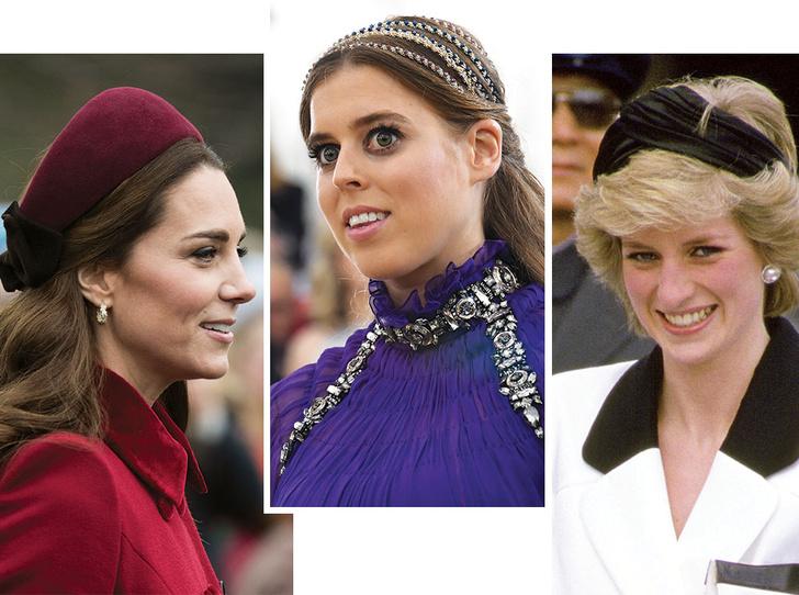 Фото №1 - Как королевские модницы носят широкие ободки (и где искать похожие)