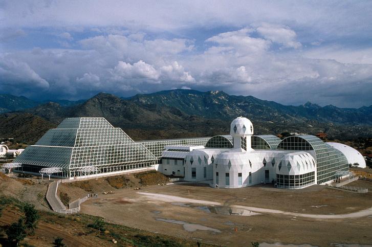 Фото №1 - «Биосфера-2»: двухлетний эксперимент по выживанию в замкнутой среде, который провалился
