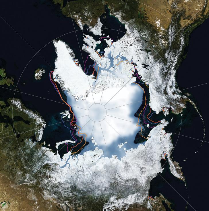 Фото №3 - Картография: Между нами тает лед