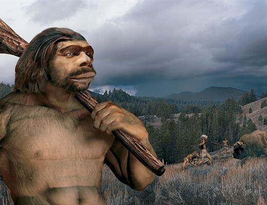 Фото №1 - Конкуренты из Неандерталя