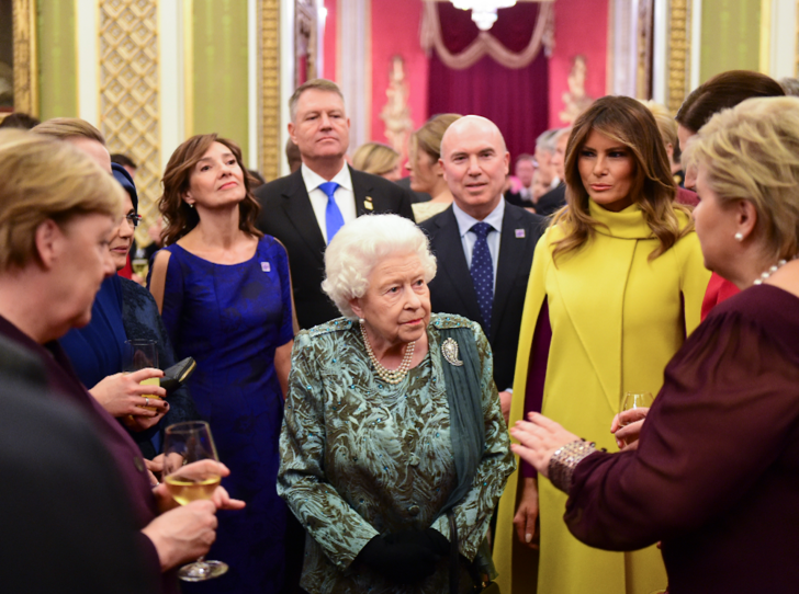 Фото №6 - Кто ярче: Мелания, Кейт и Камилла в эффектных нарядах на саммите НАТО в Лондоне