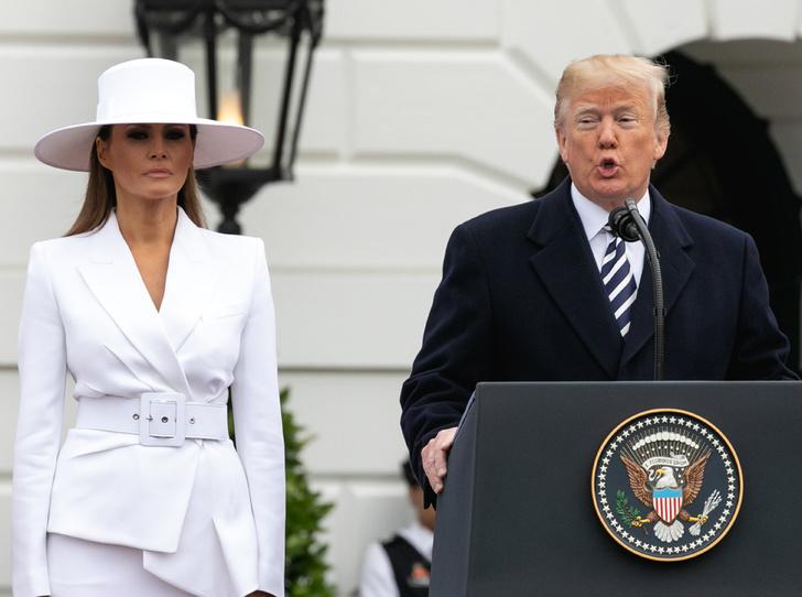 Фото №3 - Мелания Трамп предпочитает сторониться мужа
