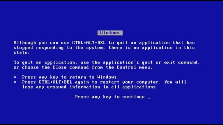 Фото №3 - 35 лет ОС Windows: история голубого экрана смерти