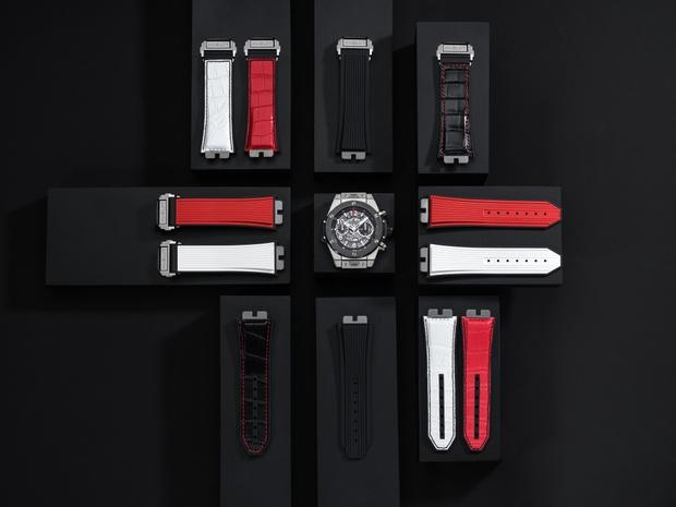 Фото №2 - Одни часы — десяток вариантов: Hublot выпустил коллекцию ремешков для моделиBig Bang