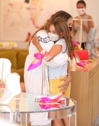 Фото №3 - Семейный бизнес: Сара Джессика Паркер пришла на работу с дочерью Табитой
